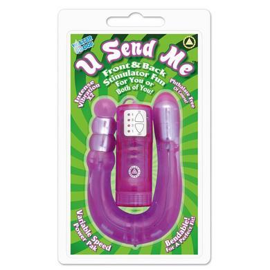 U Send Me Purple Vibrator
