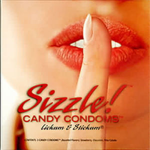 Sizzle Candy Condom