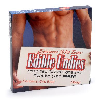 Edible Undies Male Strawberry Champagne