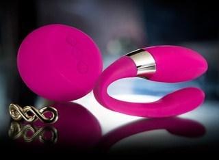 Tiani 2 Cerise Pink Couples Massager