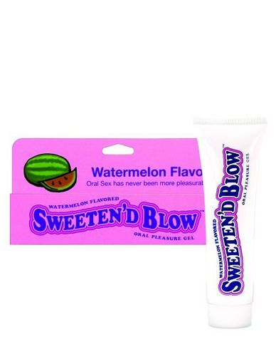 Sweeten D Blow Oral Pleasure Gel Watermelon 1.5 oz