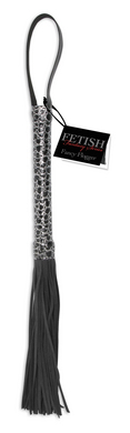 Fetish Fantasy Series Designer Flogger-Black