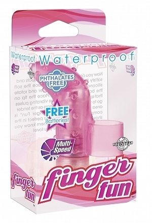 Waterproof Finger Fun Vibrator Pink
