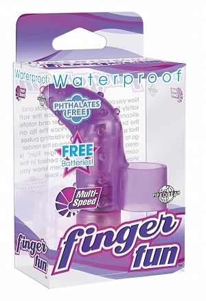 Waterproof Finger Fun - Purple