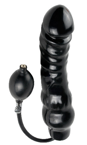 Inflatable Ass Blaster Black
