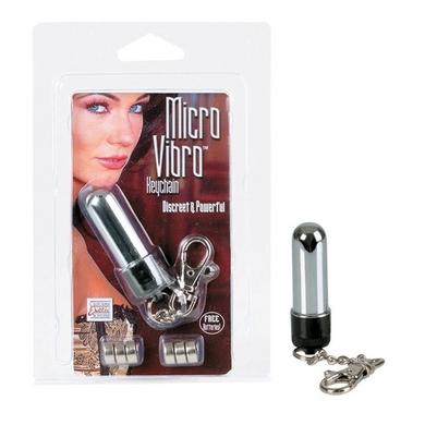 Micro Vibro Keychain - Silver