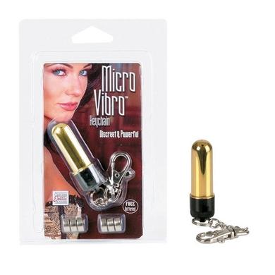 Micro Vibro Keychain Gold