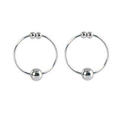 Nipple Rings Silver