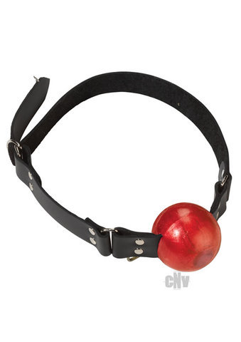 "2"" Red Ball Gag W/D Rings Bondage SPL08N10"