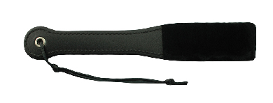 BLACK FUR LINE 12 IN PADDLE