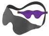 Blindfold W/Black Fur Purple SPL08M13_1thmb