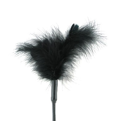 Sex & Mischief Feather Tickler Black