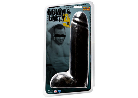 Down & Dirty 10 inches Dong Black