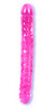 Pink Jelly Double dildo 12 inch 0287-01-thmb