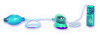 Clit and Vaginal Pump and Vibrator - Blue 0615-03thmb
