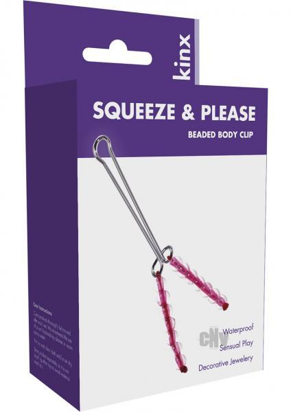 Squeeze N Please Clit Clip Minx