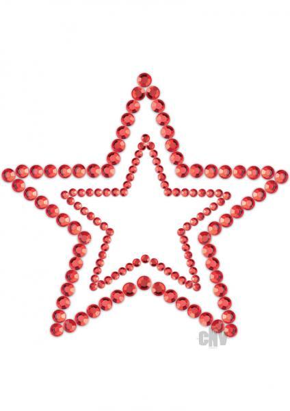 Mimi Star Red Rhinestone Pasties