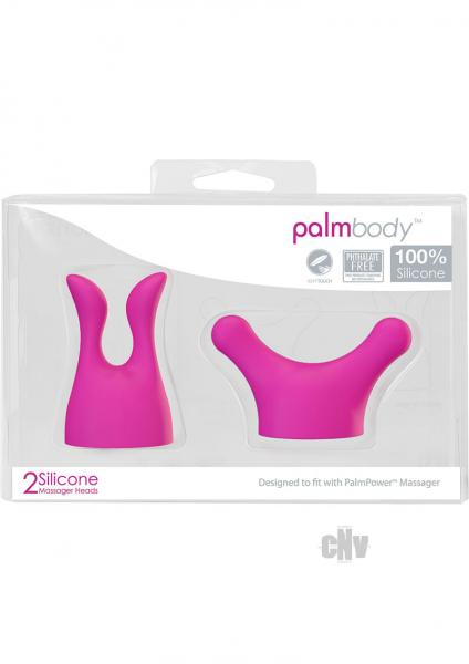 Palm Body Head Attachments 2 Pack Pink