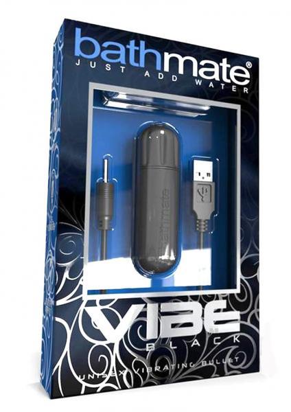 Bathmate Vibe Unisex Vibrating Bullet Black