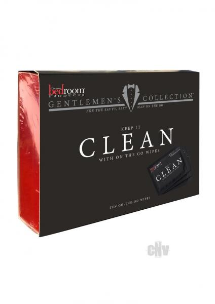 Bedroom Products Clean Wipes 10 Pack