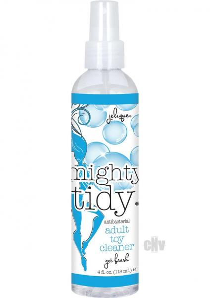 Mighty Tidy Antibacterial Adult Toy Cleaner 4oz Spray Bottle