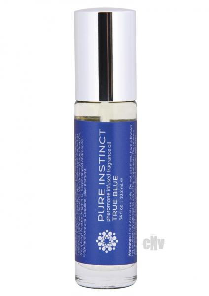 Pure Instinct Pheromone Oil True Blue Roll On .34oz