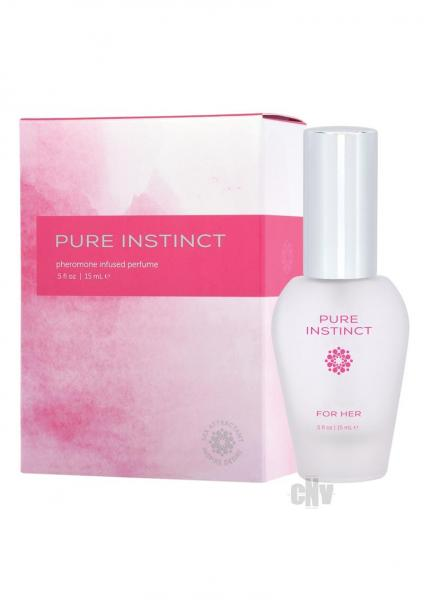 Pure Instinct Pheromone Perfume For Her 0.5oz
