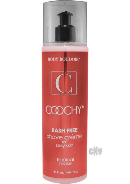 Coochy Shave Creme Tropical Tease Bottle 16oz