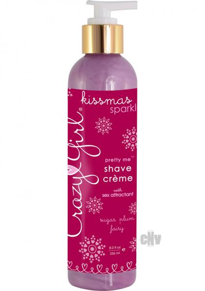 Crazy Girl Shave Creme Sugar Plum 8oz