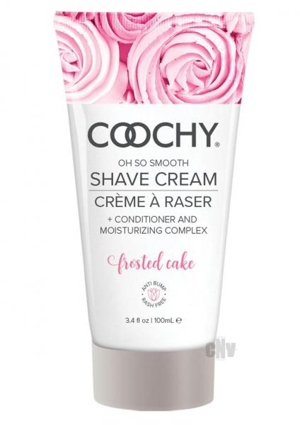 Coochy Shave Cream Frosted Cake 3.4 fluid ounces
