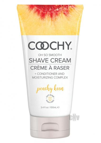 Coochy Shave Cream Peachy Keen 3.4 fluid ounces