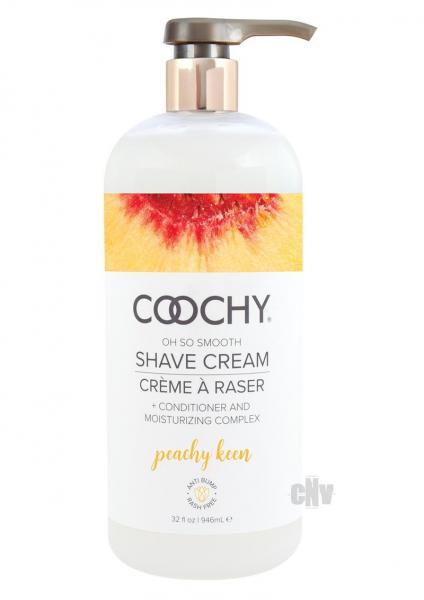 Coochy Shave Cream Peachy Keen 32 fluid ounces