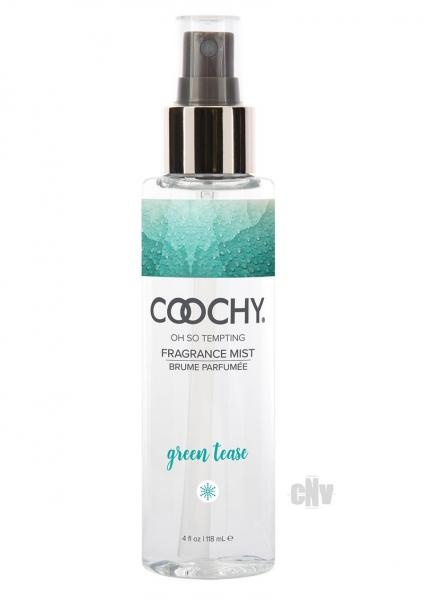 Coochy Fragrance Mist Green Tease 4 fluid ounces