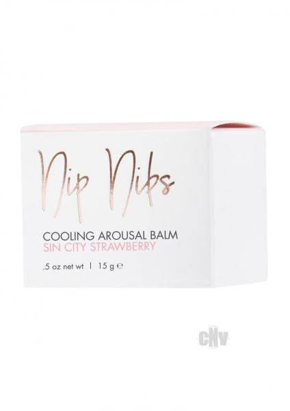 CG Nip Nibs Cooling Arousal Balm Sin City Strawberry .5oz