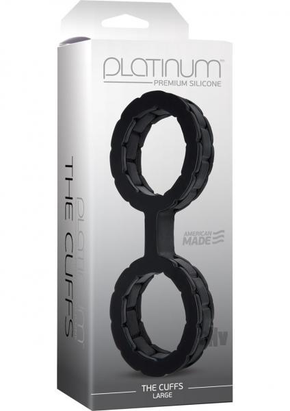 Platinum The Cuffs Large Black