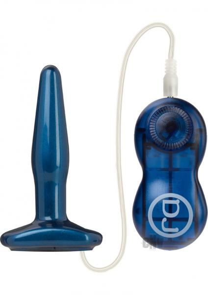 Vibrating Anal Plug Small Blue