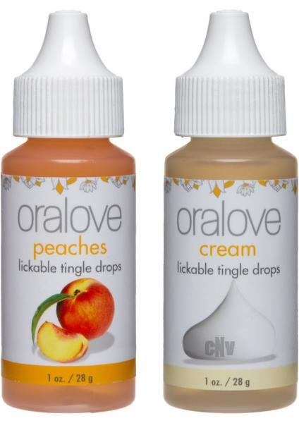 Delectable Duo Peaches/Cream Tingle Drops