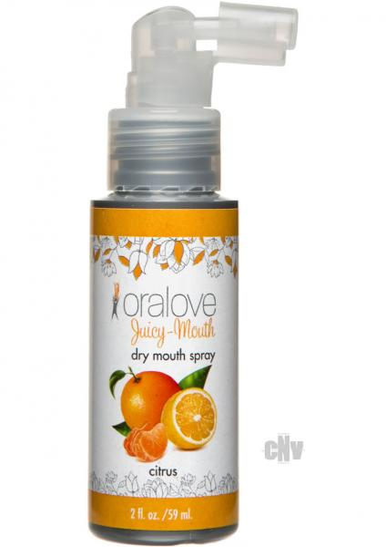 Oralove Juicy Dry Mouth Spray Citrus 2oz