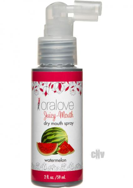 Oralove Juicy Dry Mouth Spray Watermelon 2oz