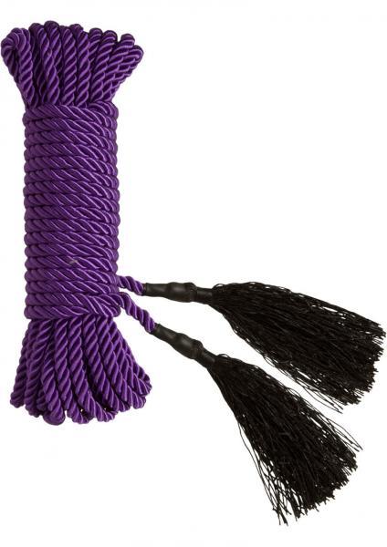 Bondage Bliss Purple Rope 32ft