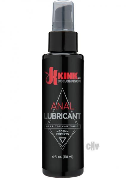 Kink Lubricants Anal Lubricant 4 fluid ounces