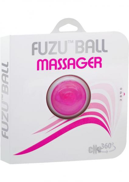 Fuzu Massager Ball Neon Pink