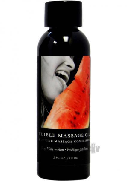 Edible Massage Oil Watermelon 2oz