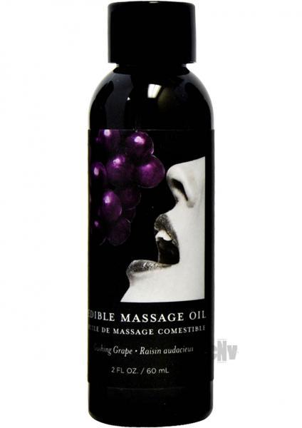 Edible Massage Oil Grape 2oz