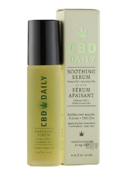 CBD Daily Soothing Serum Roller Ball .34 fluid ounce