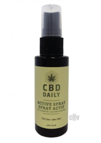 Earthly Body CBD Daily Active Spray 2 fluid ounces