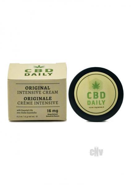 CBD Daily Intensive Cream Regular Pocket Size .50oz