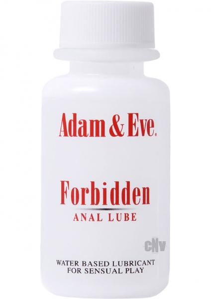 Forbidden Anal Lube Water Based 1oz.