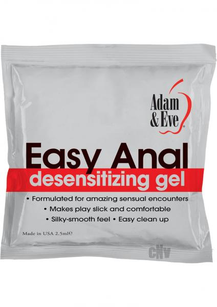 Easy Anal Foil Packs 2.5ml