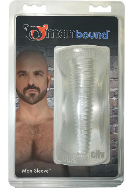 Manbound Man Sleeve Masturbation Sleeve Clear